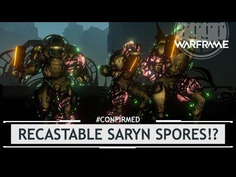 Warframes: NEW Saryn Spores RECASTABLE? - Devworkshop [#confirmed]