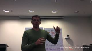 'Talking About the 800 Pound Gorilla in the Room'  – Colin James Method, Melbourne
