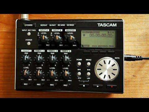 Tascam DP-004 DP-006 Digital Multitrack Recording, Mix, and Master Quick Tutorial | 424recording.com