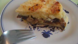 Картофельная запеканка(Картофельная запеканка Картошка грибы сыр 180гр 20 минут., 2015-03-27T23:15:23.000Z)