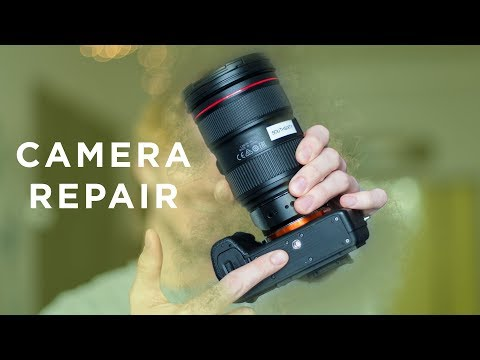 how to fix Sony a7s ii tripod mount