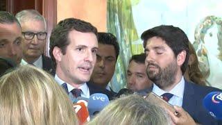 Casado rechaza abstenerse en otra investidura de Sánchez y ofrece pactos