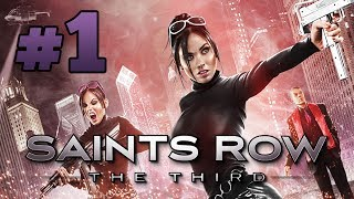 "Saints Row: The Third - Gameplay Walkthrough (Part 1) ""Heist Gone Wrong"""