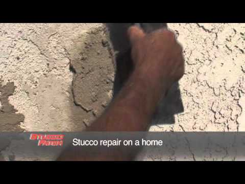 Rapid Set Stucco Patch Patch And Paint In 2 Hours Youtube