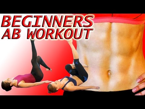 10 Minute Abs Workout For Beginners - At Home Six Pack Exercise Routine
