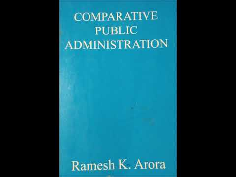 Comparative Public Administration - Audio Book - Foreword