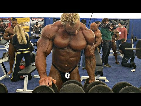 Arnold Classic Backstage Pump Up Room