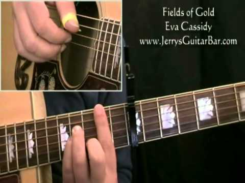 How To Play Eva Cassidy Fields of Gold (intro only)