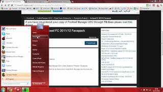 How to get Facepacks and Real Kits on Football Manager 2012