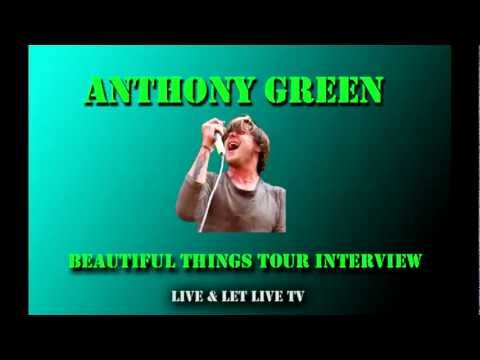 Anthony Green Beautiful Things Tour Interview