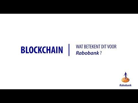 Wat betekent blockchain voor de Rabobank?