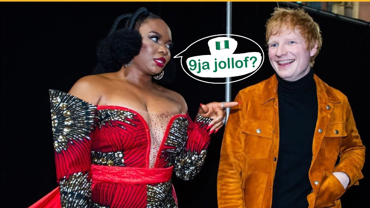 Download Yemi Alade invites Ed Sheeran to come try Her Jollof Cooking in Nigeria.