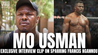 Mohammed Usman Details Sparring Francis Ngannou & Explains the Confidence It Gave Him