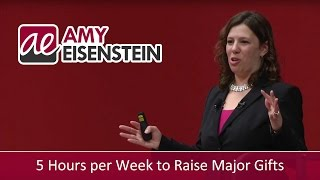 How to Put in the Time to Raise Major Gifts