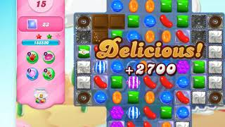Candy Crush Saga on Facebook level 167, Game