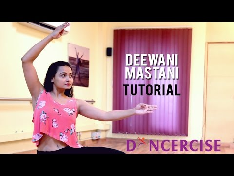 Deewani Mastani Dance Tutorial By Aditi Saxena | Dancercise