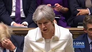 Word for Word: British Prime Minister Theresa May on Syrian Strikes (C-SPAN)
