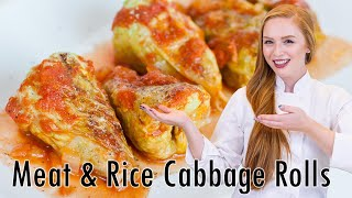 How to Make Delicious Russian Cabbage Rolls - Голубцы