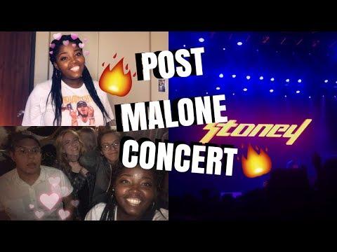 POST MALONE CONCERT! 🔥Dallas,TX || Rockstar, Candy Paint, White Iverson || VLOG ❤️