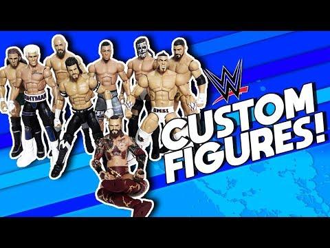 CLEAN WWE CUSTOM ACTION FIGURES