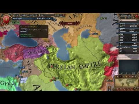 Let's Play Europa Universalis IV: Persian Empire - Part 1