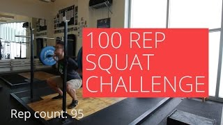 Video 100 Rep 80kg Squat CHALLENGE - The importance of goal setting for overcoming pain download MP3, 3GP, MP4, WEBM, AVI, FLV Oktober 2018