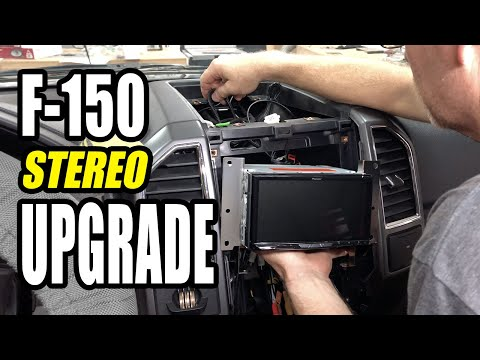 Ford F-150 Stereo Upgrade With Pioneer AVIC-W8500NEX Receiver