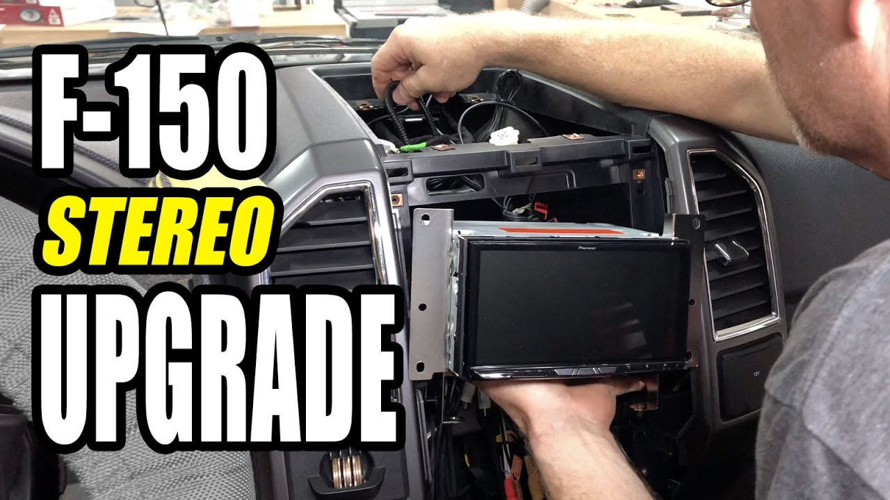 2006 Ford F150 Stereo Upgrade