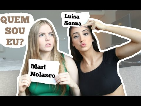QUEM SOU EU? FT LUISA SONZA MARITODODIA