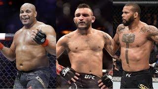 Кормье дал совет Сантосу, боец уволен из UFC, продажи PPV боя Малиньяджи vs. Лобов