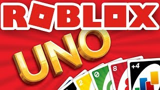 Miles Plays Roblox Uno for the First Time!