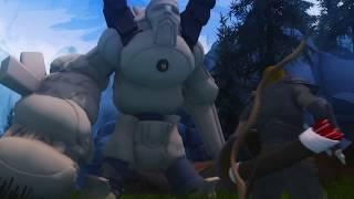 Skyrim meets Zelda Breath of the Wild - Unfinished video