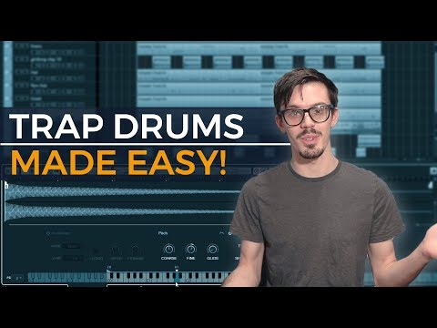 Trap Drums Tutorial [Cubase 9.5 // Sampler Track]