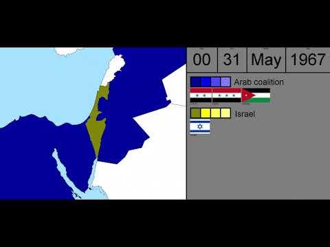 Alternate History. Arab-Israel War Of 1967 Every 6 Hours.