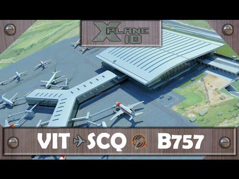 Nuevo Santiago [LEST] | X-Plane 10/11 | B757 | Live FLight: LEVT - LEST