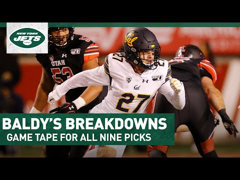 Baldy's Breakdowns For All Nine Jets 2020 Draft Picks | New York Jets | NFL