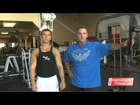Instructional Fitness - Cable Cross-overs