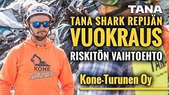 TANA Shark repijän vuokraus – Riskitön vaihtoehto (in Finnish)