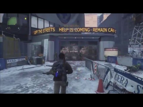 The Division Walkthrough Part 12 - Pennsylvania Plaza: Main Mission - Madison Field Hospital