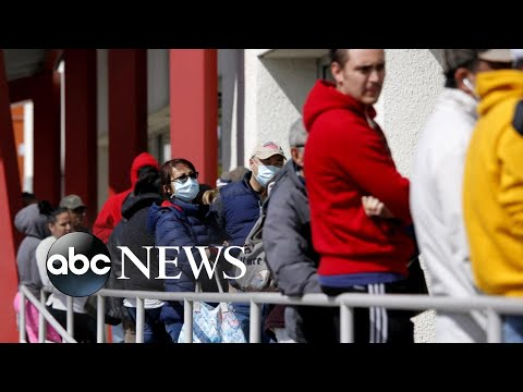 6.6 million file for unemployment: Historic job losses in the US | ABC News