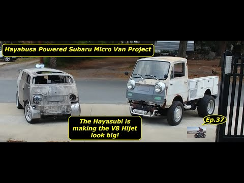 Hayabusa Powered Subaru Sambar Micro Van Project.  Ep.37