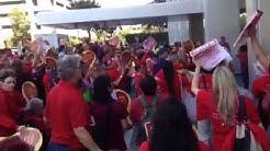 RAW Video : Nurses Rally Against Kaiser & Endorse Health Insurance Rate Regulation