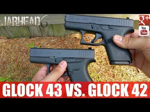 Glock 43 Vs. Glock 42: Size Comparison
