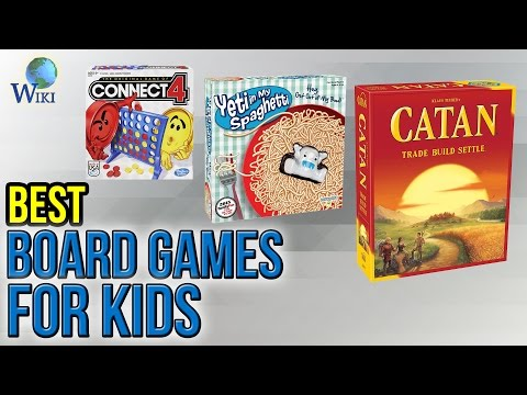 10 Best Board Games For Kids 2017 - YouTube