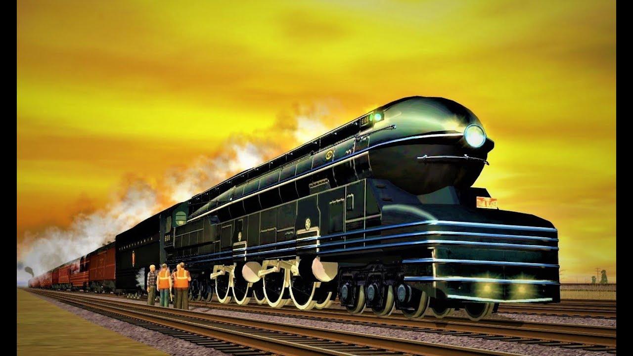 = 138 mph = PRR S1 #6100 - The Fastest Steam Locomotive in the World ?!