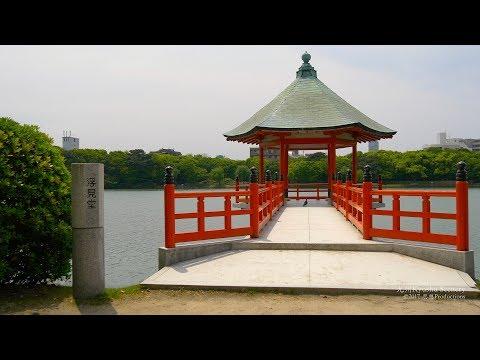 4K 大濠公園 福岡市 Ohori Park Fukuoka Kyushu JAPAN