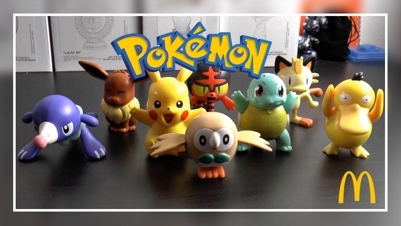 8 Mcdonalds Pokémon Figuren Im Happy Meal