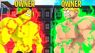 I had to use OWNER POWERS to defeat the CORRUPT OWNER.. (Roblox)