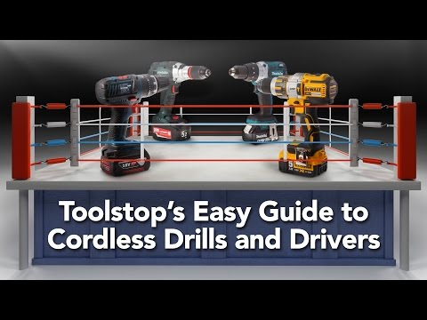 What's The Best Cordless Drill? Toolstop's Easy Guide