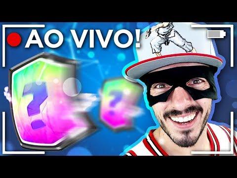 🔴  CORRIDA DO OURO NO CLASH ROYALE AO VIVO! - BATALHANDO E ABRINDO BAÚS!!